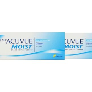 1-Day Acuvue Moist for Astigmatism 2 x 30 Tageslinsen