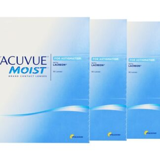 1-Day Acuvue Moist for Astigmatism 2x180 Stück Kontaktlinsen von Johnson & Johnson, Sparpaket 6 Monate