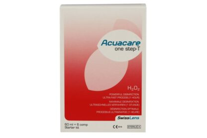 Acuacare One Step-T 60 ml Peroxid-Lösung Flight-Pack