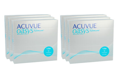 Acuvue Oasys 1-Day 2x270 Tageslinsen Sparpaket 9 Monate