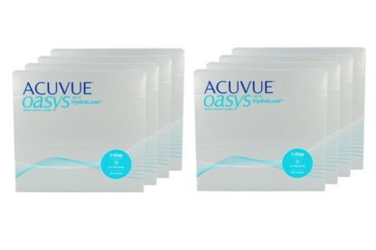 Acuvue Oasys 1-Day 8 x 90 Tageslinsen Sparpaket 12 Monate