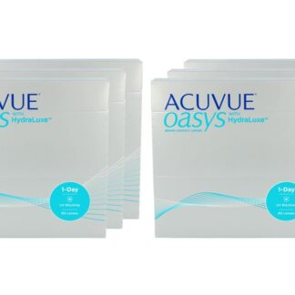 Acuvue Oasys 1-Day with HydraLuxe Kontaktlinsen von Johnson&Johnson, Sparpaket 9 Monate 2x270 Stück