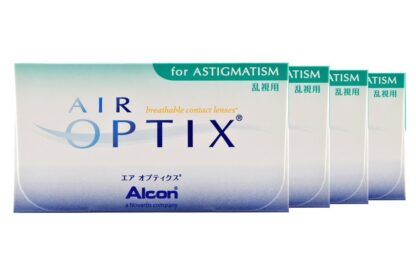 Air Optix for Astigmatism 4 x 6 Monatslinsen
