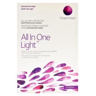 All In One Light 2 x 360 ml All-in-One Lösung