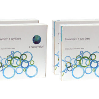 Biomedics 1 day Extra 2x180 Tageslinsen Sparpaket 6 Monate