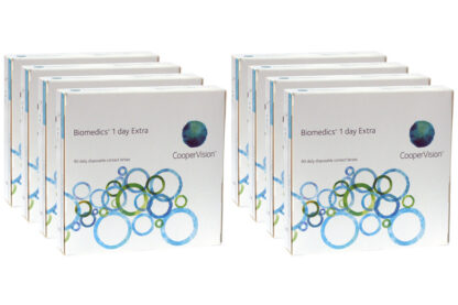 Biomedics 1 day Extra 2x360 Tageslinsen Sparpaket 12 Monate