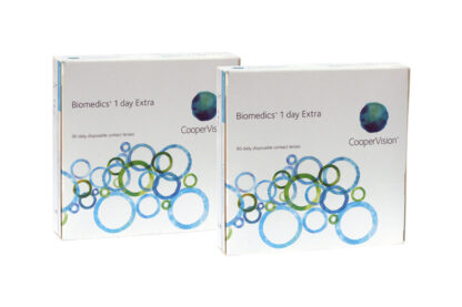 Biomedics 1 day Extra 2x90 Tageslinsen Sparpaket 3 Monate