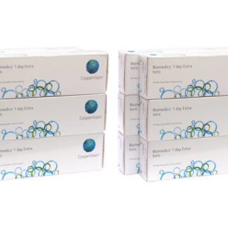 Biomedics 1 day Extra toric 2x180 Tageslinsen Sparpaket 6 Monate
