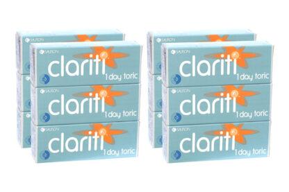Clariti 1 day toric 2x180 Tageslinsen Sparpaket 6 Monate
