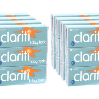 Clariti 1 day toric 2x360 Tageslinsen Sparpaket 12 Monate