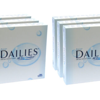 Dailies All Day Comfort 2x270 Tageslinsen Sparpaket 9 Monate