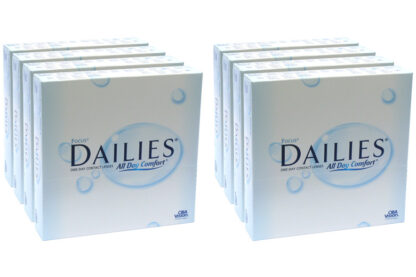 Dailies All Day Comfort 2x360 Tageslinsen Sparpaket 12 Monate