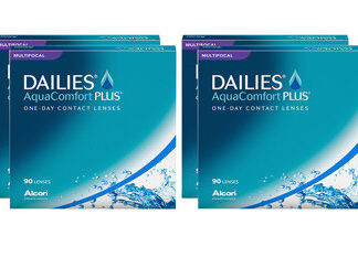 Dailies AquaComfort Plus Multifocal 2x180 Tageslinsen Sparpaket 6 Monate