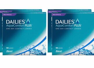 Dailies AquaComfort Plus Multifocal 2x180 Tageslinsen Sparpaket 6 Monate