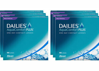Dailies AquaComfort Plus Multifocal 2x270 Tageslinsen Sparpaket 9 Monate