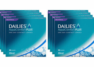 Dailies AquaComfort Plus Multifocal 2x360 Tageslinsen Sparpaket 12 Monate