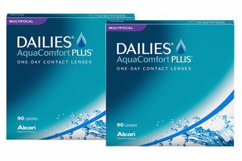 Dailies AquaComfort Plus Multifocal 2x90 Tageslinsen Sparpaket 3 Monate