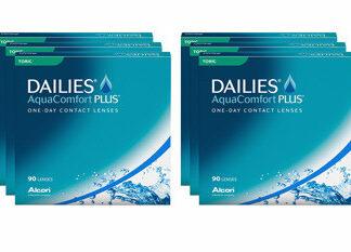 Dailies AquaComfort Plus Toric 2x270 Tageslinsen Sparpaket 9 Monate