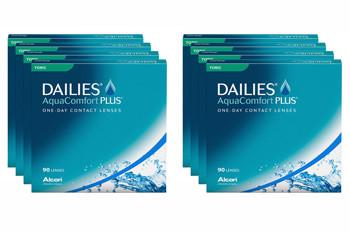 Dailies AquaComfort Plus Toric 2x360 Tageslinsen Sparpaket 12 Monate