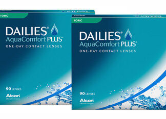 Dailies AquaComfort Plus Toric 2x90 Tageslinsen Sparpaket 3 Monate