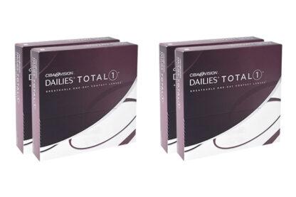 Dailies Total 1 2x180 Tageslinsen Sparpaket 6 Monate