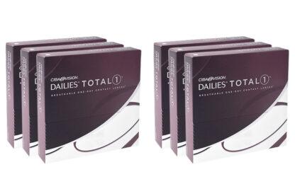 Dailies Total 1 2x270 Tageslinsen Sparpaket 9 Monate
