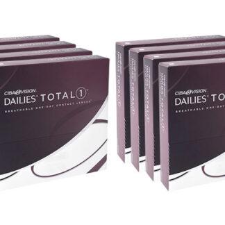 Dailies Total 1 2x360 Tageslinsen Sparpaket 12 Monate