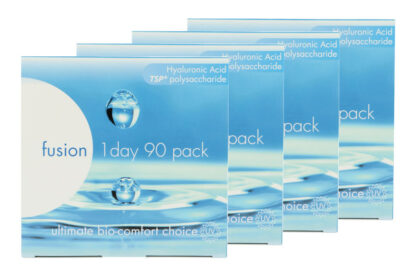 Fusion 1 Day 2x180 Tageslinsen Sparpaket 6 Monate