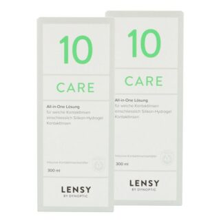 Lensy Care 10 2 x 300 ml All-in-One Lösung