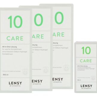 Lensy Care 10 3 x 300 ml + 60 ml All-in-One Lösung