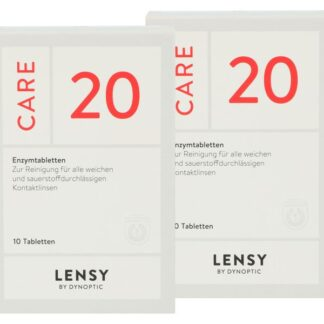 Lensy Care 20, 2 x 10 Tabletten
