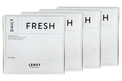 Lensy Daily Fresh Spheric 4 x 90 Tageslinsen Sparpaket 6 Monate