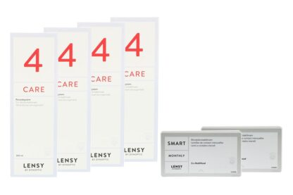Lensy Monthly Smart Multifocal & Lensy Care 4, Halbjahres-Sparpaket