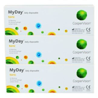 MyDay daily disposable toric 90 Tageslinsen