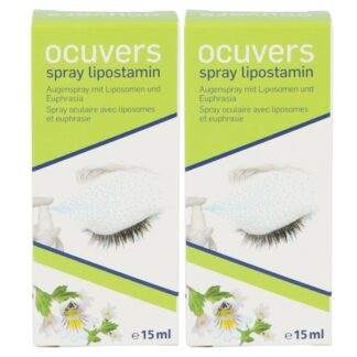 Ocuvers Spray Lipostamin 2 x 15 ml Augenspray