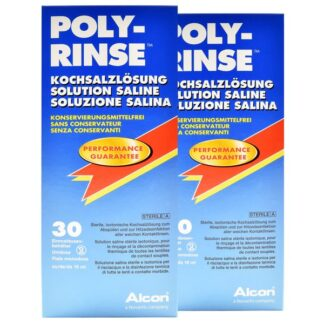 Poly-Rinse Kochsalzlösung Duo-Pack 2x 30x15ml
