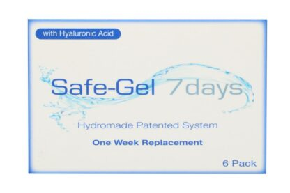 Safe-Gel 7days 6 Wochenlinsen