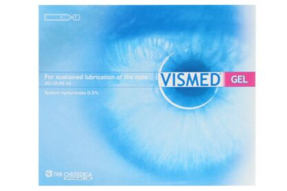 Vismed gel 20x0,45ml Ampullen