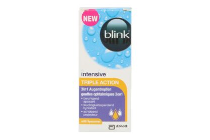 blink intensive Triple Action 3in1, Augentropfen 10ml