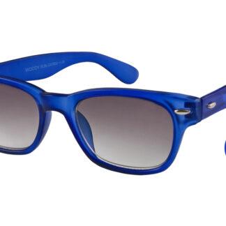Woody Lese-Sonnenbrille Blau