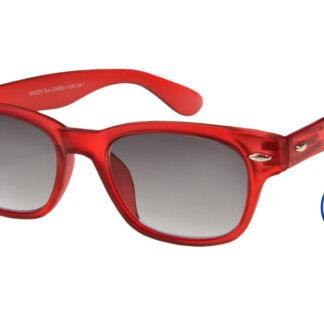 Woody Lese-Sonnenbrille Rot