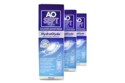 Aosept Plus HydraGlyde 3 x 360 ml Peroxid-Lösung