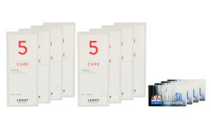 ConSiL Plus 4 x 6 Monatslinsen + Lensy Care 5 Jahres-Sparpaket
