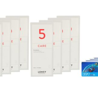 Dispo MultiSiL 4 x 6 Monatslinsen + Lensy Care 5 Jahres-Sparpaket