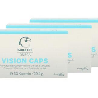 Eagle Eye Omega Vision Caps 3 x 30 Kapseln Nahrungsergänzung