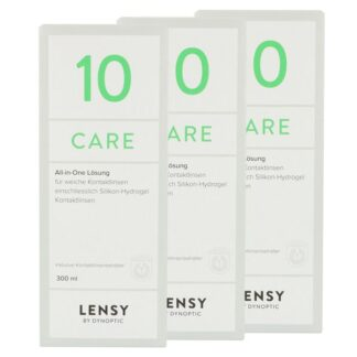 Lensy Care 10 3 x 300 ml All-in-One Lösung