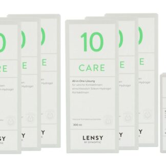 Lensy Care 10 6 x 300 ml + 60 ml All-in-One Lösung
