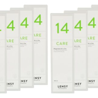 Lensy Care 14 8 x 360 ml All-in-One Lösung