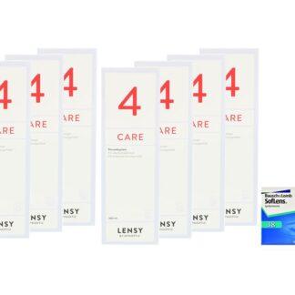 SofLens 38 4 x 6 Monatslinsen + Lensy Care 4 Jahres-Sparpaket