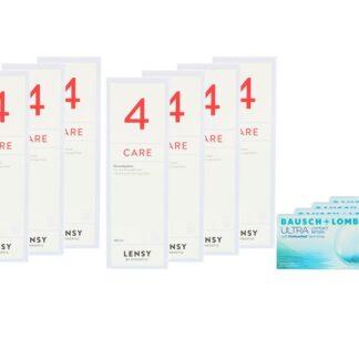 Ultra 4 x 6 Monatslinsen + Lensy Care 4 Jahres-Sparpaket